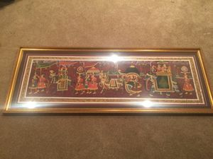 Original Indian painting for Sale in Frederick, MD