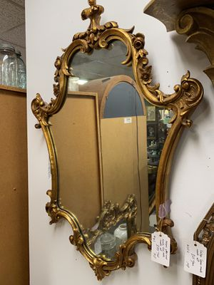 Antique mirror console table set gilt wood for Sale in Falls Church, VA