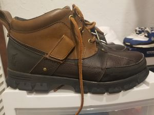 Sz 10 polo boots for Sale in Wichita Falls, TX