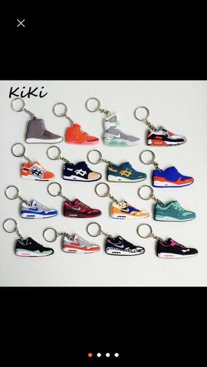 Nike Air Jordan Air Max shoe key chains for Sale in Salt Lake City, UT