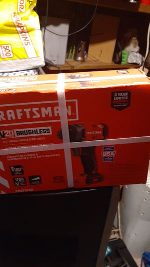 CRAFTSMAN DRILL & BATTERY & CHARGER KIT for Sale in Lucama, NC