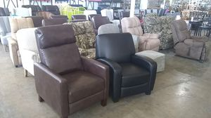 Recliner chair $100 sale today only BIGGEST SHOWROOM IN DALLAS for Sale in Dallas, TX