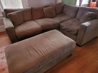 Stanton Sectional Couch/Loveseat/Sofa and Ottoman for Sale in Portland,  OR