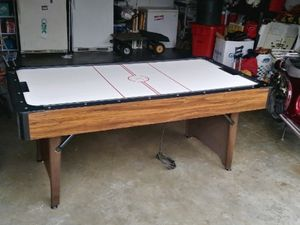 "Air Hockey Table. Brunswick - 72"" - 2 speed control, very clean, slightly used. Top of the line for Sale in Saint Charles, MO"