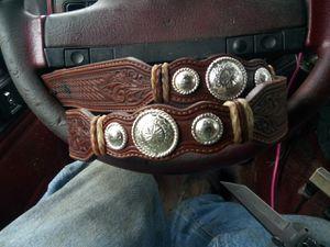 Tony lama belt (no buckle) for Sale in Elma, WA