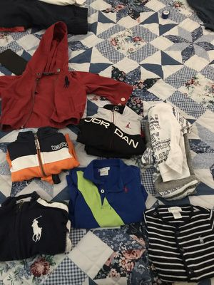 Assorted kids clothes ( polo, converse and Jordan) for Sale in Morrow, GA