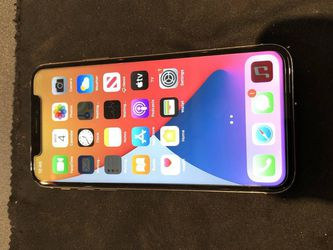 Unlocked iPhone X black with screen {url removed} a brand new condition for Sale in North Augusta,  SC