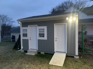 15x10 Shed, Electrical, heat and a/c, 1 side insulated. High quality build for Sale in North Providence, RI