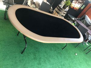Black poker table for Sale in National City, CA