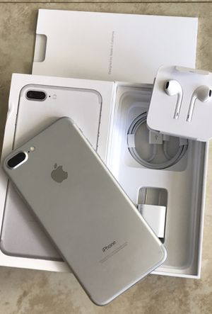 NEW Condition iPhone 7 Plus Factory Unlocked 128GB 32GB 256GB rythm accept addition for Sale in Miami Beach, FL