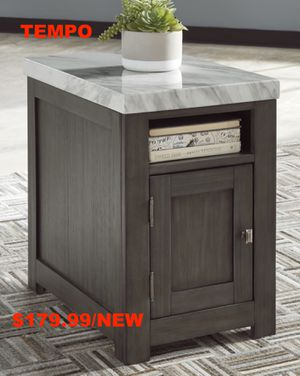 Wineburg Rectangular End Table, Gray/White for Sale in Santa Ana, CA