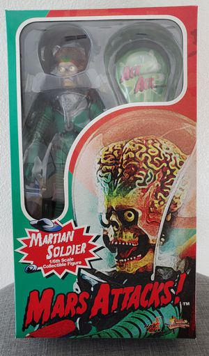 Mars Attacks Hot Toys 1/6 Martian Soldier Action Figure Sideshow collectible for Sale in Placentia, CA