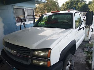 2004 Chevy 3500 utility bed for Sale in Winter Haven, FL