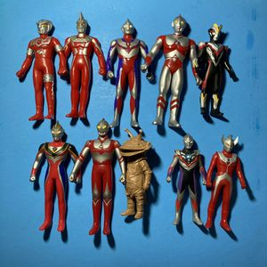 Lot Of 10 Bandai Ultraman Figures for Sale in Mission Viejo, CA
