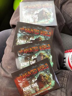 Haunted world tickets for Sale in Caldwell,  ID