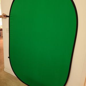 Collapsible Green/Blue Screen With Carrying Case for Sale in Clermont, FL
