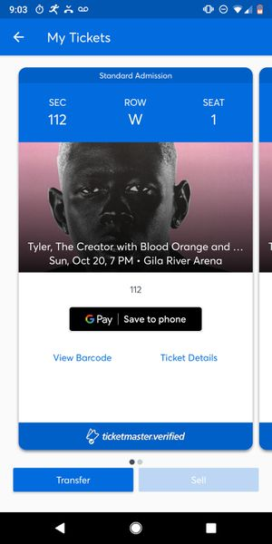 Tyler the Creator Tickets for Sale in Chandler, AZ