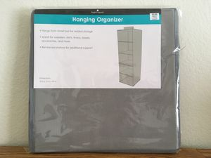 Hanging organizer and storage bins ( new) for Sale in Temecula, CA