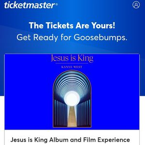 4 Kanye Weat Jesus Is King Tickets for Sale in Inglewood, CA