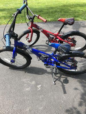 2 kids schwinn bikes 20 inch for Sale in Southampton, PA