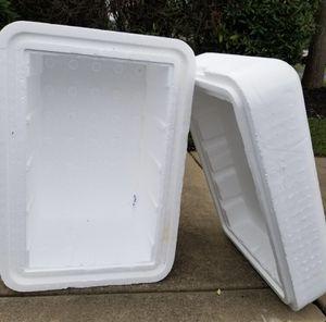 3 big styrofoam coolers for Sale in Nashville, TN