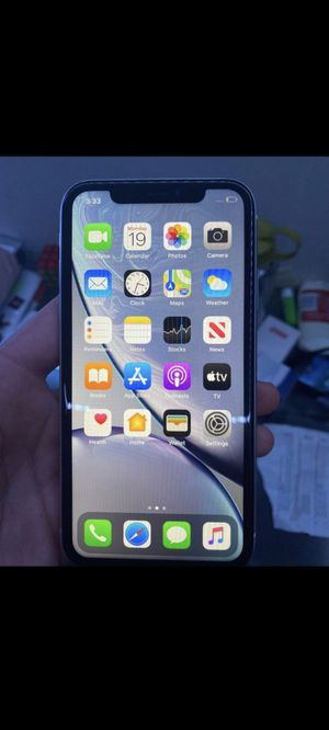 Iphone XR white unlocked for Sale in US