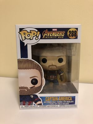 Funko Pop toy Captain America for Sale in San Francisco, CA