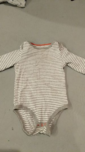 Boys size 6 to 9 month cat and Jack long sleeve onesie for Sale in Hazelwood, MO