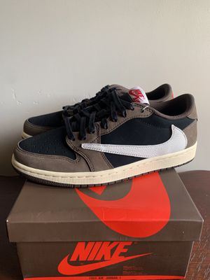 Air Jordan 1 Low Travis Scott Size 8 authentic with receipt for Sale in San Diego, CA