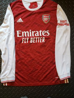 Aubameyang - Arsenal 2020/2021 Home Jersey Size L for Sale in Hoffman Estates, IL