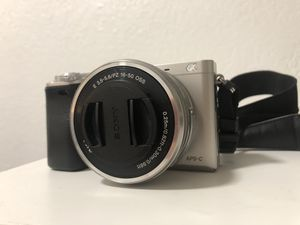 Sony a6000 mirrorless camera with 16-50mm kit lens and accessories for Sale in Seattle, WA
