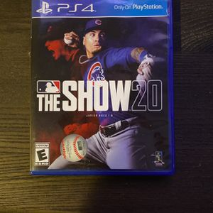MLB the Show 20 PS4 for Sale in Denver, CO