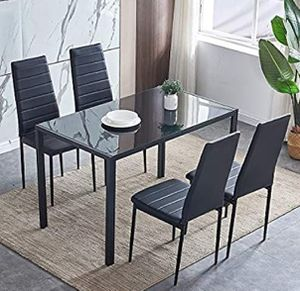 Brand new dining room table and 4 chairs for Sale in Fort Lauderdale, FL