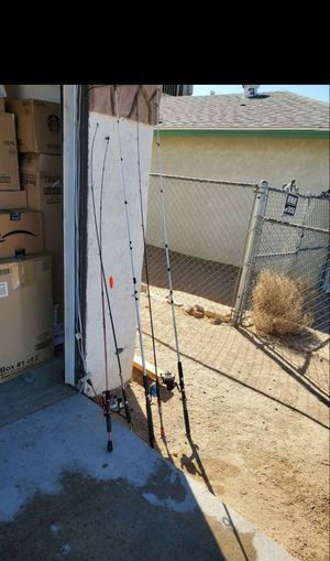 Fishing poles for Sale in Victorville, CA