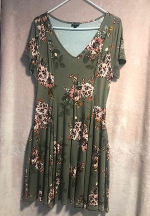 Torrid floral dress for Sale in Falls Church, VA
