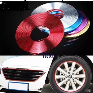 8M/ Roll Rimblades Car Vehicle Color Wheel Rims Protectors Decor Strip Tire Guard Line Rubber Moulding Trim for Sale in Alhambra, CA