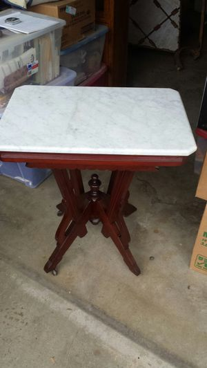 Antique marble table for Sale in Fresno, CA