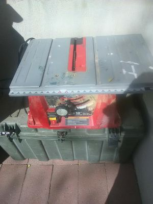 """Norge 10"""" table saw (missing fence) for Sale in Taylorsville, UT"""
