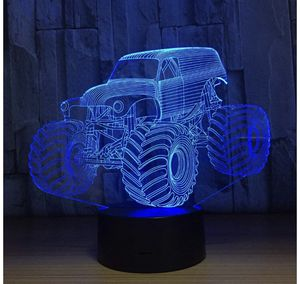 YeeSeeJee Night Light Tractor Night Light with Timer Remote Adjustable 7 Colors Birthday Gift for Children's or Besides Lamp for Kids Room Decor (Toy for Sale in Burnsville, MN