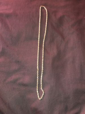 10K Gold Rope Chain for Sale in Los Angeles, CA