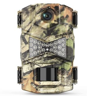Trail Camera, Waterproof 16MP 1080P Hunting Game Camera, Wildlife Camera with Upgraded 850nm IR LEDs Night Vision 260ft, 2.0''LCD for Home Security W for Sale in Staten Island, NY