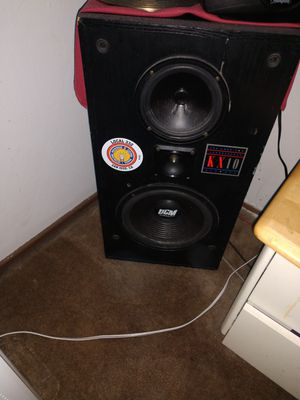 10' speakers for Sale in San Jose, CA