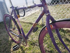 Aluminum custom Bontrager Bike. for Sale in Magna, UT