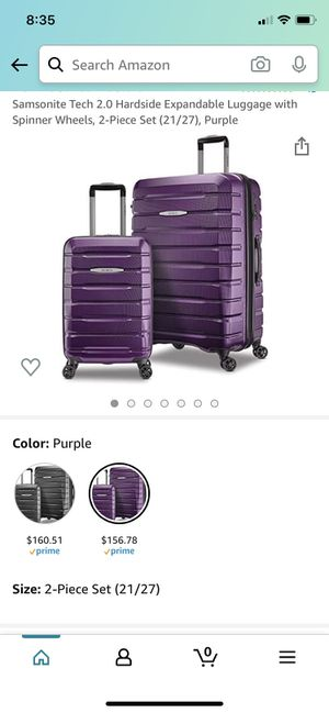 Samsonite Tech 2 (Purple) for Sale in Yucaipa, CA