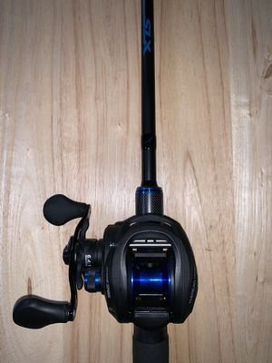 Shimano SLX rod and Lew's American Hero reel for Sale in Elkland, PA