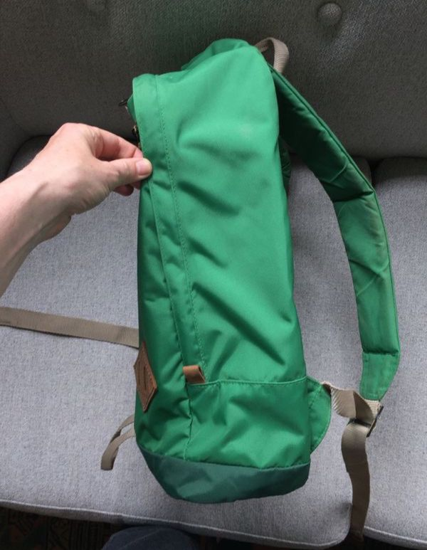 Green JanSport backpack