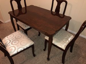 Dinner Table with 4 Chairs for Sale in Macon, GA