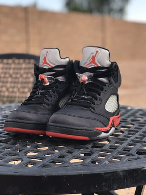 Retro Jordan 5 bred satin for Sale in Maricopa, AZ