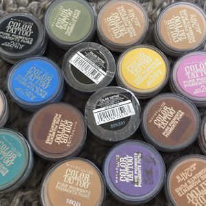 New Maybelline Color Tatto Pigmented Eyeshadows for Sale in Los Angeles, CA