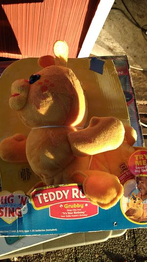 Hug and sing grubby from teddy ruxpin for Sale in Everett, WA